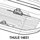 Gumové těsnění THULE TH14831