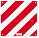 Signální reflexní Alu tabulka pro zadní nosiče kol