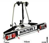Nosič 2 kol na tažné Wjenzek Alfa Plus 2 sklopný