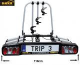 Nosič 3 kol na tažné HAKR TRIP 3 Middle