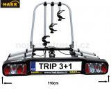 Nosič 4 kol na tažné HAKR TRIP 3+1 Middle