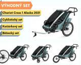 Thule Chariot Cross 1 Alaska 2021 + bike set + běžecký set + kočárkový set
