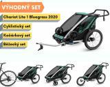 Thule Chariot Lite 1 Bluegrass 2020 + bike set + běžecký set + kočárkový set