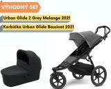 Thule Urban Glide 2 Black / Grey Melange 2021 s korbičkou