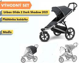 Thule Urban Glide 2 Dark Shadow 2021 s madlem a pláštěnkou - zvětšit obrázek