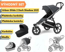 Thule Urban Glide 2 Dark Shadow 2021 s příslušenstvím - zvětšit obrázek